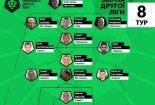 Сантрапинских - в символической сборной 8 тура