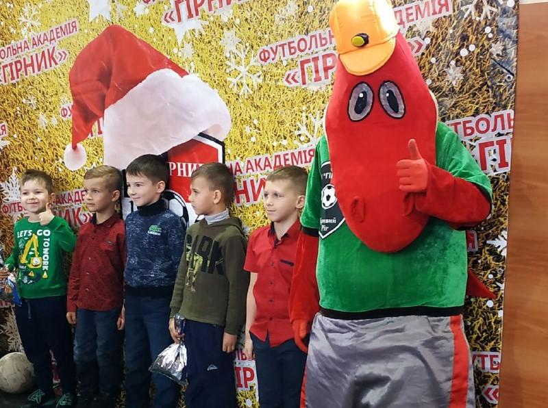 """ФА """"Горняк"""" провела Рождественский утренник"""