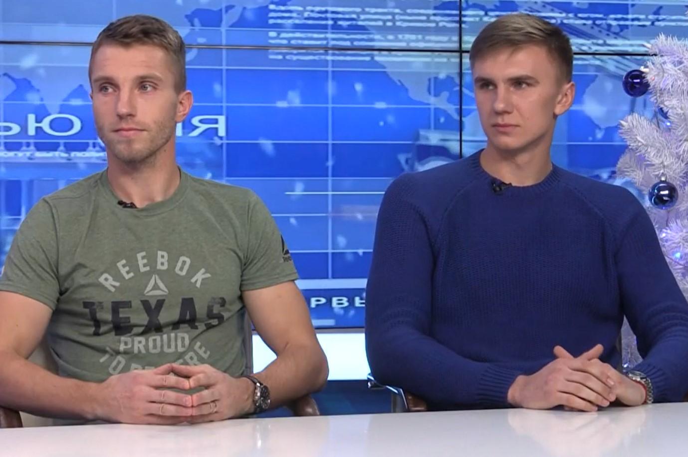 """Андрей Григорик и Дмитрий Черныш - в передаче """"Интервью дня"""": видео"""