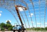 Строительство крытого футзального манежа в СК Горняк