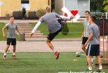 Тренировка Горняка U-19 после игры в Одессе